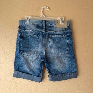 H&M Men's Tie Dye Denim Shorts Size 29